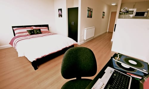 Student Double Studio Accommodation in Luton